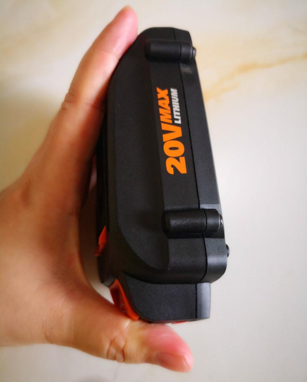 No LED 2000mah 2500mah Li-ion Battery For Worx 20v Worx 3520 3525 3575 3578 2A 6A 100-240 Charger For WA3742 WA3835 WA3847