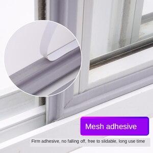 Image 4 - Tira de sellado de ventana autoadhesiva, banda de goma insonorizada y resistente al viento, de nailon, espuma para puertas y ventanas correderas