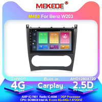 4G LTE android10.0 4G+64G Car Multimedia GPS Navigation Radio Player for Mercedes Benz W203 C180 C200 C220 C230 C240 C250 W209