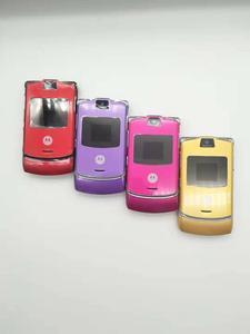 Image 3 - Motorola teléfono móvil Razr V3 Original, versión global, buena calidad, Quad Band GSM, un año de garantía, envío gratuito