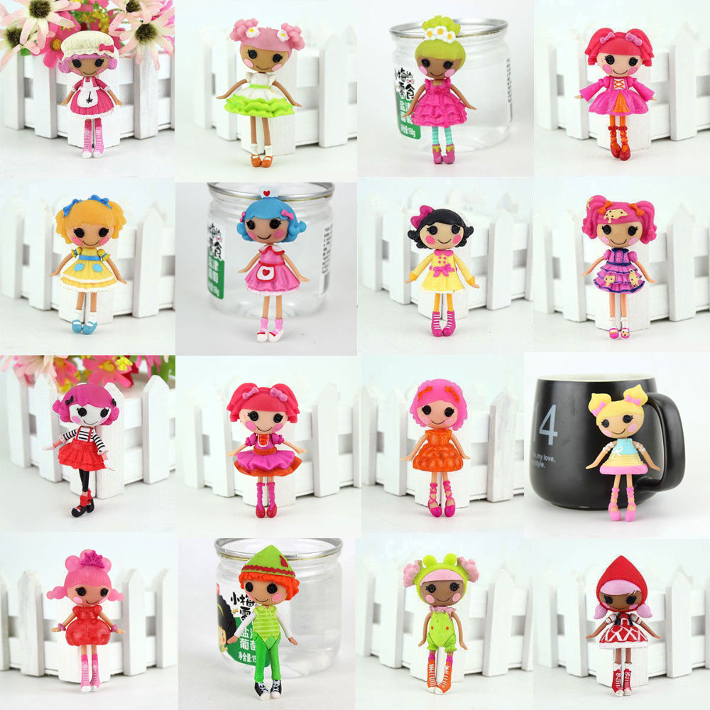 House Lalaloopsy Dolls Mini Dolls Baby's-Toy MGA Unique Original 3inch For Play Each