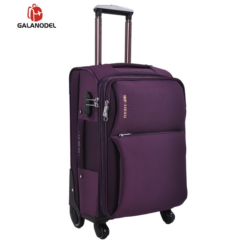 Travel Luggage Suitcase Oxford Spinner Suitcase Men Travel Rolling Luggage Bag On Wheels  Travel Wheeled Suitcase Trolley Bag