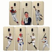baseball cartoon Bryce Harper cover Capinha soft silicone phone cases Coque fundas capa for Samsung J7 Plus J6Prime J6