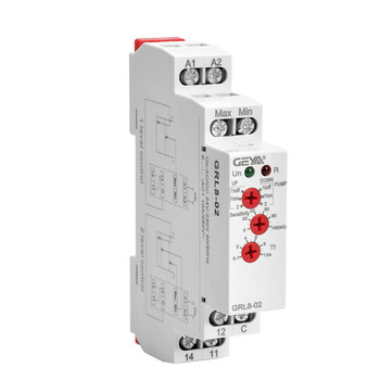цена на GRL8 Water Level Relay Electronic Liquid Level Controller 10A AC/DC24V-240V Liquid Level Control Relay Din Rail
