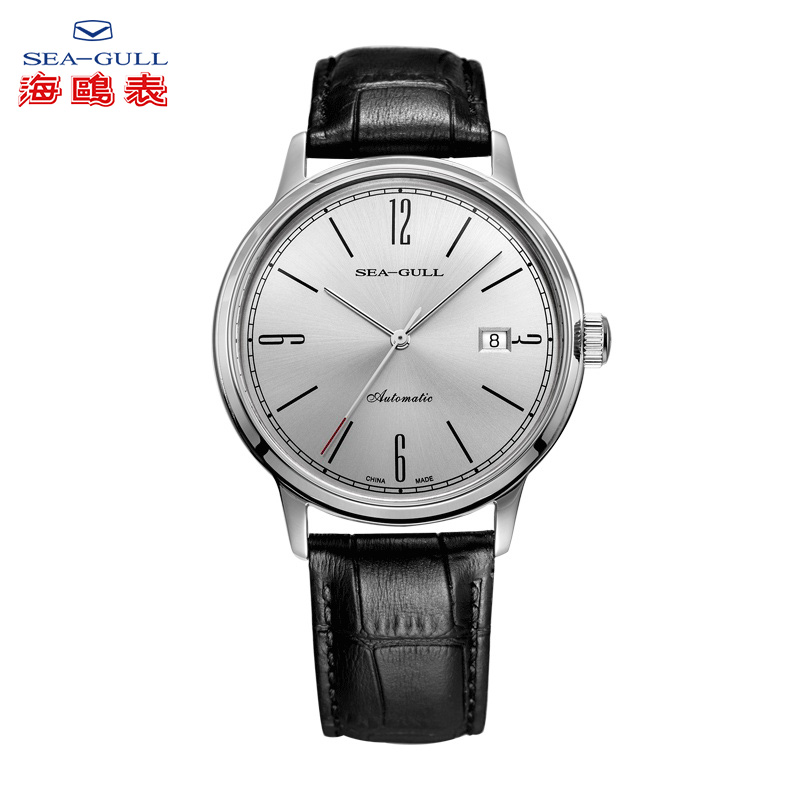 Seagull Couple Watch Automatic Mechanical Watches Vintage Watch Water-proof Business Watch Thin And Light Simple Watch D819.637