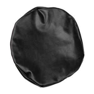 Image 2 - Elastic PU Leather Round Stool Chair Cover Waterproof Pump Chair Protector Bar Beauty Salon Small Round Seat Cushion Sleeve