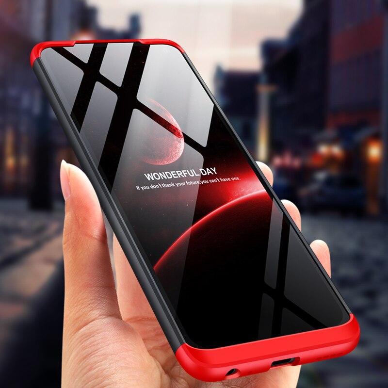For VIVO Z6 Case Hard Hybrid PC 360 Full Body Protective Back Cover for VIVO Z6 Phone Case VIVOZ6 Fundas Coque