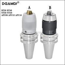 1 шт. BT30 BT40 NT30 NT40 APU08 APU13 APU16 80L 100L 110L высокой точности ЧПУ интегрированная Self-затяжка сверла патрон