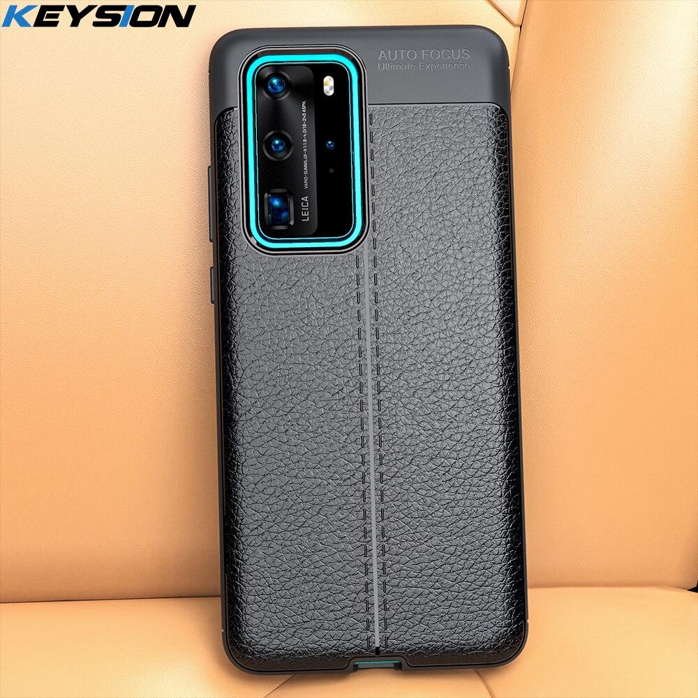 KEYSION Stoßfest Fall für Huawei P40 Lite P30 Pro P20 Mate 30 Silikon Telefon Abdeckung für Honor 30 20 Pro 30 S 10i 10Lite 8A 8X 9A