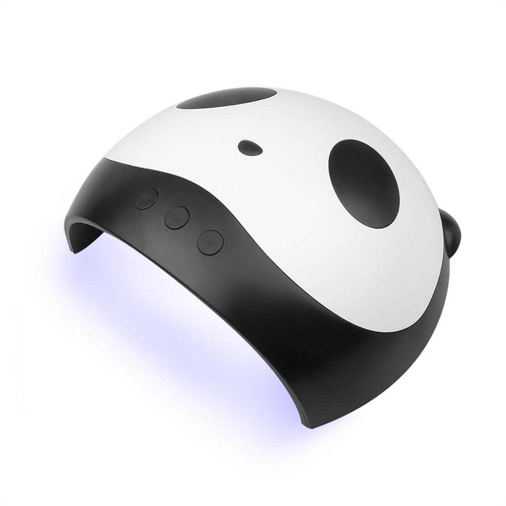 New LED UV Nail Lamp For Manicure Drying Nail Polish With Auto Sensor Panda Dryer