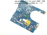 BiNFUL  STOCK   AAL10  LA-B843P MOTHERBOARD FOR DELL vostro 3458 / 3558 notebook mainboard   processor I3-4005U (qualified ok)