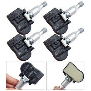 4 шт. 433 МГц датчик контроля давления в шинах Автомобильный датчик TPMS для Hyundai Equus Santa Fe 52933-3N100 529333N100 автомобильные аксессуары