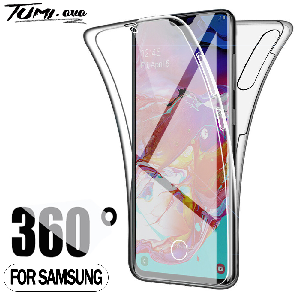 360 Caso à prova de choque para Samsung Galaxy Note 20 Ultra 8 9 10 S6 S7 Borda S8 S9 S10 S20 Plus A11 A21S A51 A71 A10 A30 A50 A70 Capa