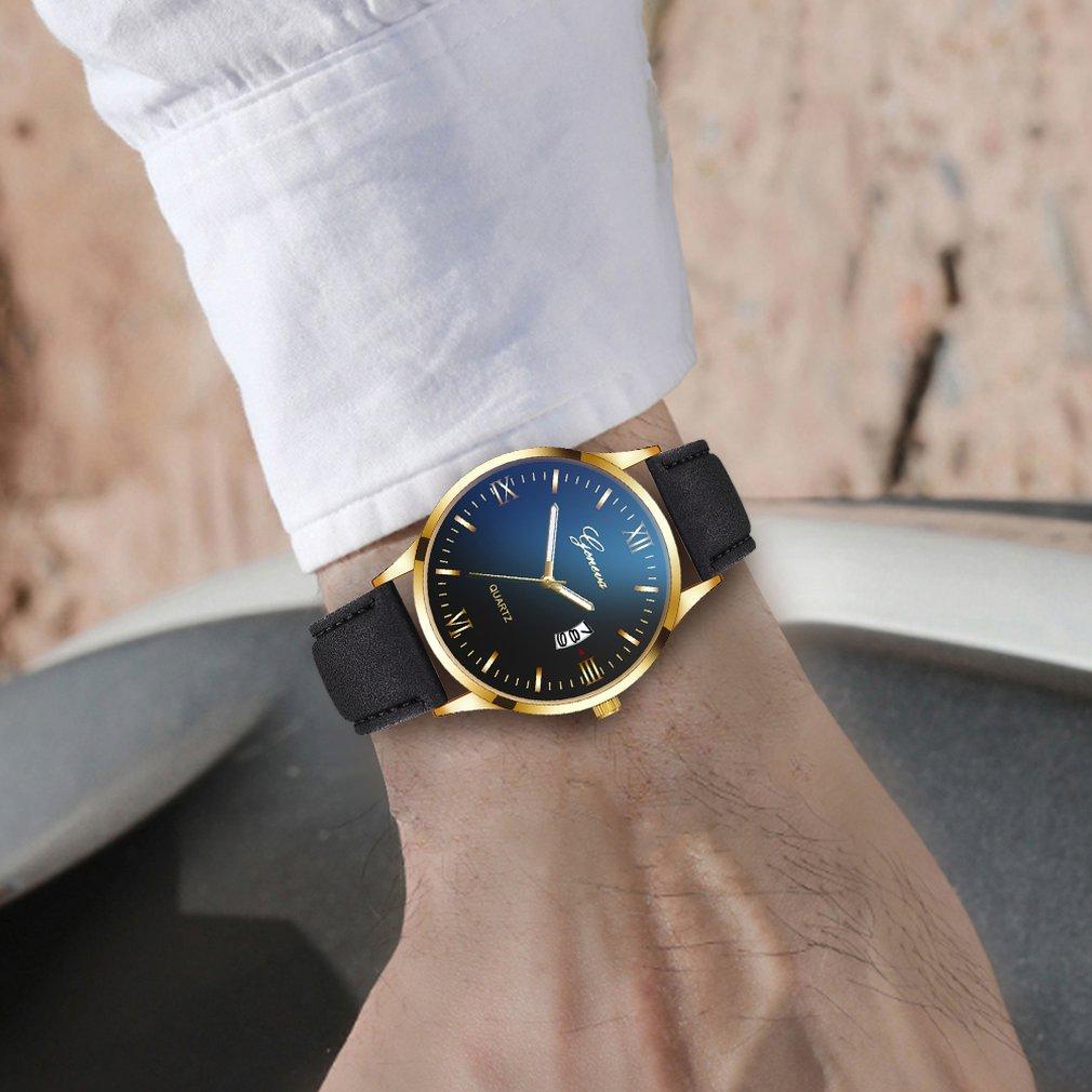 Personalized Men'S Watch Fashion Quartz Men'S Watch Quartz Watch Gift Decoration Watch Wild Multicolor For Male