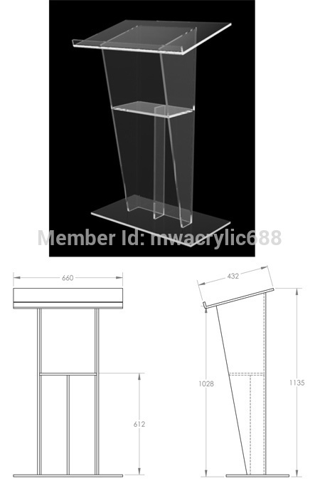 Pulpit Furniture Free Shipping Beautiful Sophistication Price Reasonable Cheap Acrylic Podium Pulpit Lecternacrylic Pulpit