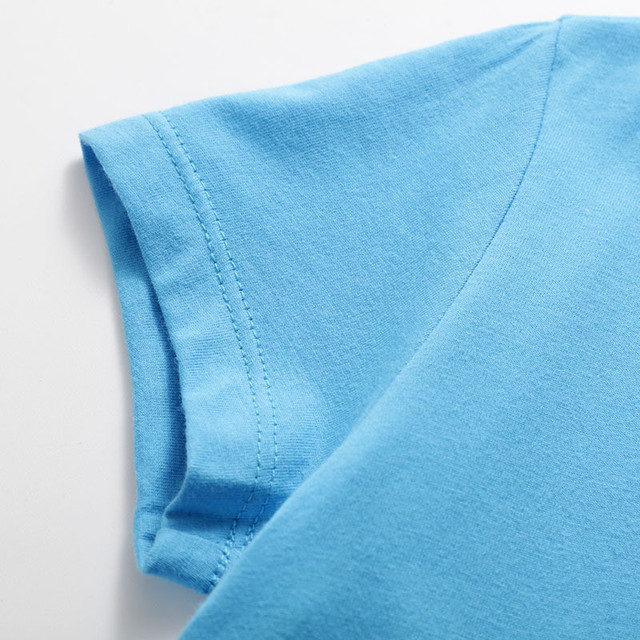 Фото платье для девочек хлопковая детская одежда с мультяшным принтом цена