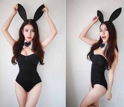 Женское нижнее белье с кроликом, костюм кролика для ролевых игр, женский сексуальный костюм с кроликом, комплект нижнего белья