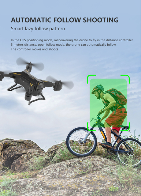 KY601G/S drone 4K 5G WIFI FPV Helicopter distance 2km Gesture photo Selfie drone gps profissional RC Quadcopter VS SG907 5