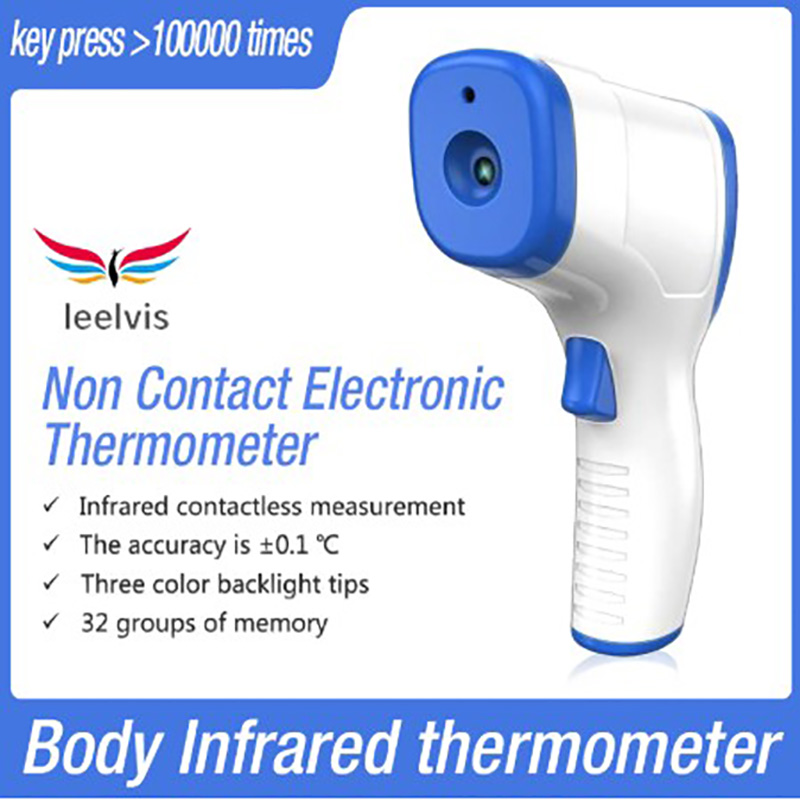 Household Temperature Body Infrared Digital Temperature Gun Baby Ear Wrist Forehead Instruments Thermometer Non-Contact Point