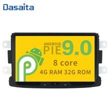 8 HD Digital Touch Screen 1080P Video Android 9.0 Car Radio GPS for Renault Duster Dacia Sandero Captur Lada Xray 2 Logan 2 адаптер рулевого управления re la r renault logan duster sandero kaptur lada vesta xray nissan terrano обучаемый