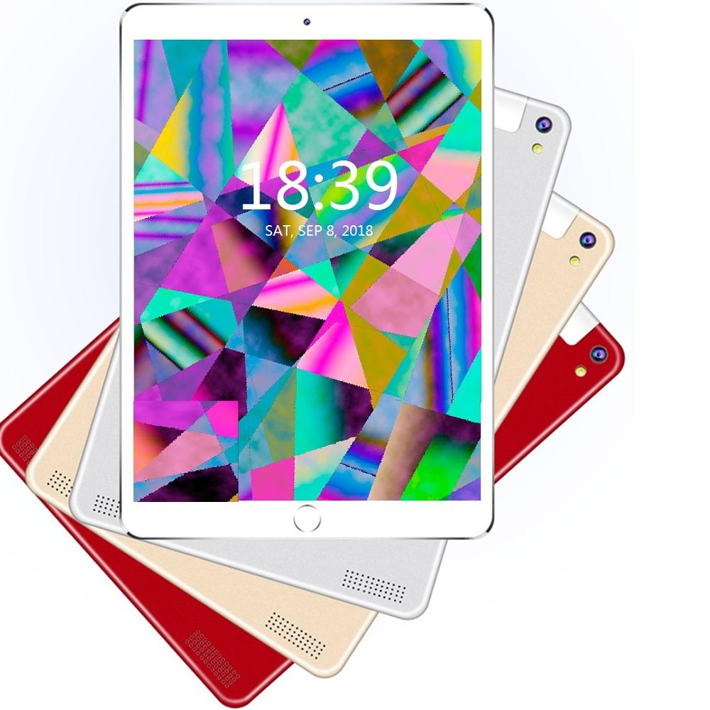 10.1 Inch Android8.1 Tablet Pc Octa Core  Original Powerful  6GB RAM 128GB ROM IPS Dual SIM Phone Call Tab Phone Pc Tablets