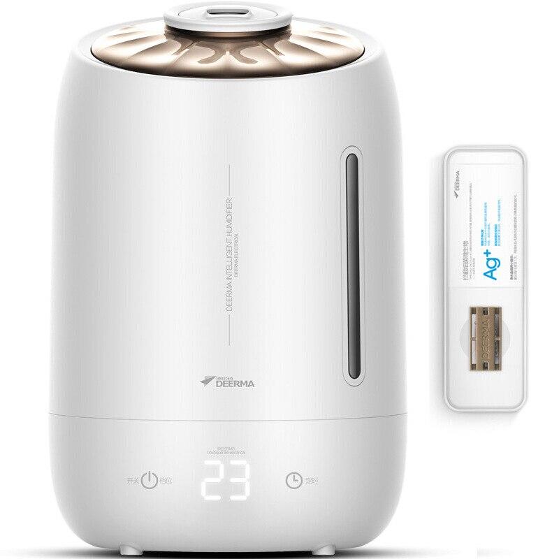 XiaoMi 5L большой емкости, увлажнитель ароматерапия машина офисный Настольный очиститель воздуха ультразвуковой распылитель бытовой воздушный диффузор