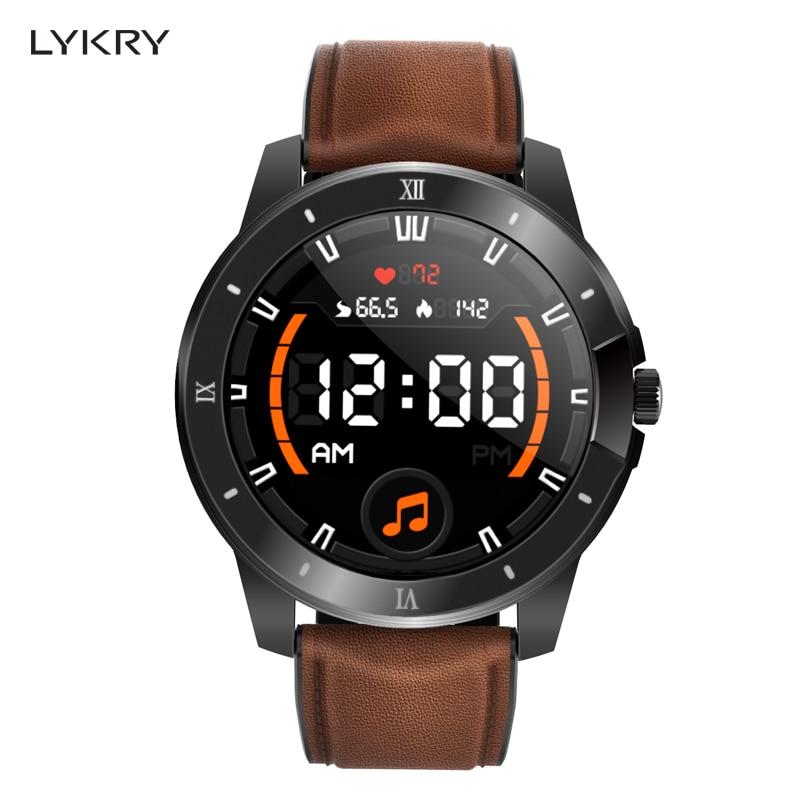 Смарт-часы LYKRY MX12 для мужчин и женщин, водонепроницаемость IP68, 256 м, музыкальный проигрыватель с наушниками Bluetooth, часы GT2 для huawei