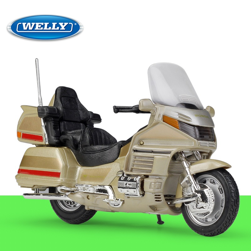 1:18 Welly Honda GOLD WING Diecast Motorcycle
