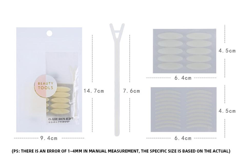 adesivos adesivos de olho lift maquiagem ferramenta