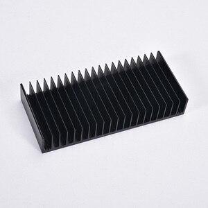 Image 2 - 1pcs Dissipatore di Calore In Alluminio Dissipatore di Calore Del Radiatore di Raffreddamento Pinna di FAI DA TE di Raffreddamento 184*84*30MM per Amplificatore audio