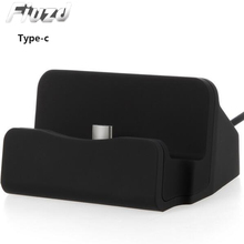 Fiuzd Universal type c dock station charger for redmi note 7 7 k20 pro Type-c docking station for xiaomi mi 9 se  mi a3 CC9 CC9e