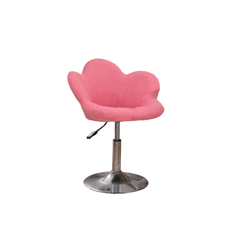 Modern Bar Chair Backrest High Lift Stool Bar Stool Front Desk Restaurant Living Room Lounge Chair