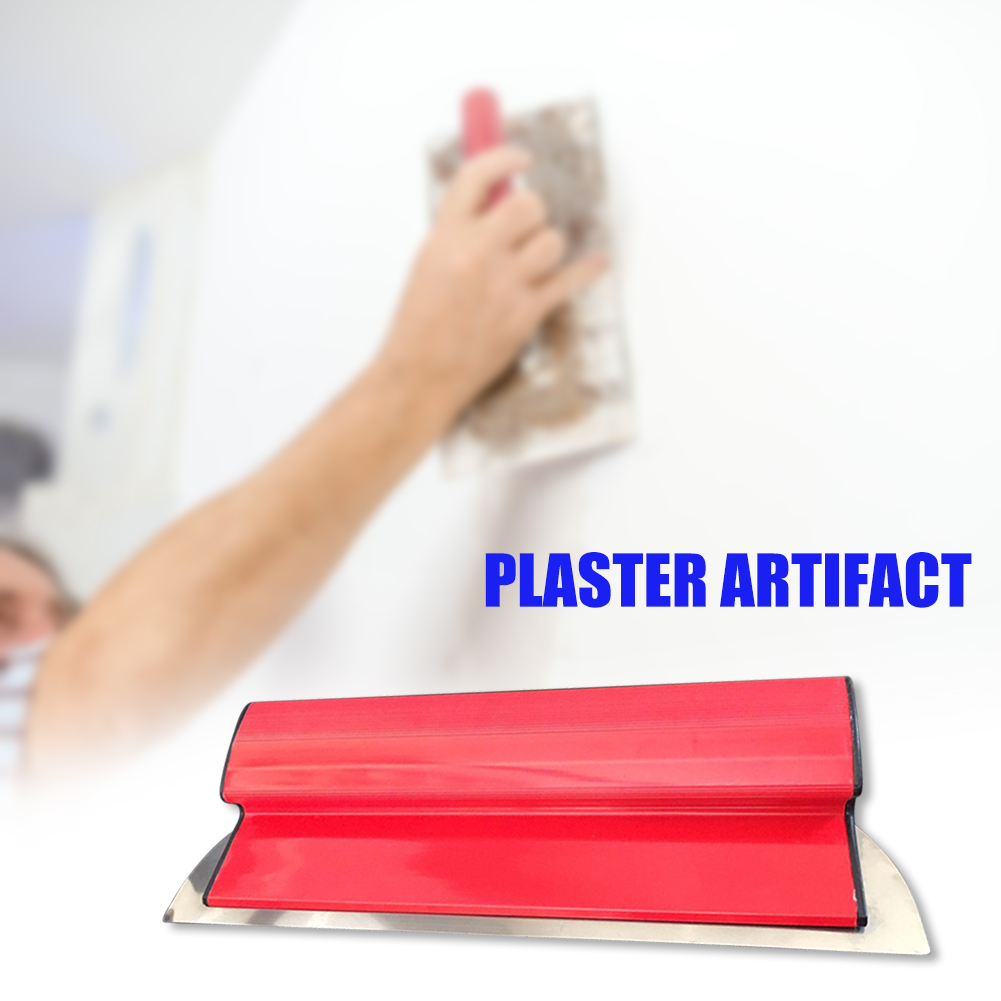 Drywall Smoothing Tool, Ideal for Wall Tools and Skimming Blades for Painting, Spatula Finish, 14x40cm Flexible Blade