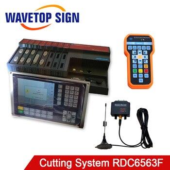 Controlador de corte láser de fibra independiente Ruida RDC6563F para láser de menos de 1500W
