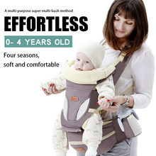2020 New Ergonomic Baby Carrier Baby Hipseat Carrier Front Facing Ergonomic Kangaroo Baby Wrap Sling for Baby Travel 0-48M cheap 0-3 months 4-6 months 7-9 months 10-12 months 13-18 months 19-24 months 3 years old 20kg COTTON Polyester Front Carry