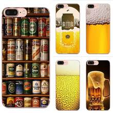 Soft Cell Case For Xiaomi Redmi 3 3S 4 4A 4X 5 6 6A 7 K20 Note 2 3 4 5 5A 6 7 Plus Pro World Beers Alcohol Summer Bubble(China)