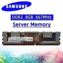 Samsung ddr2 8G 667MHz REG ECC Server Speicher RAM PC2 5300FB-DIMM