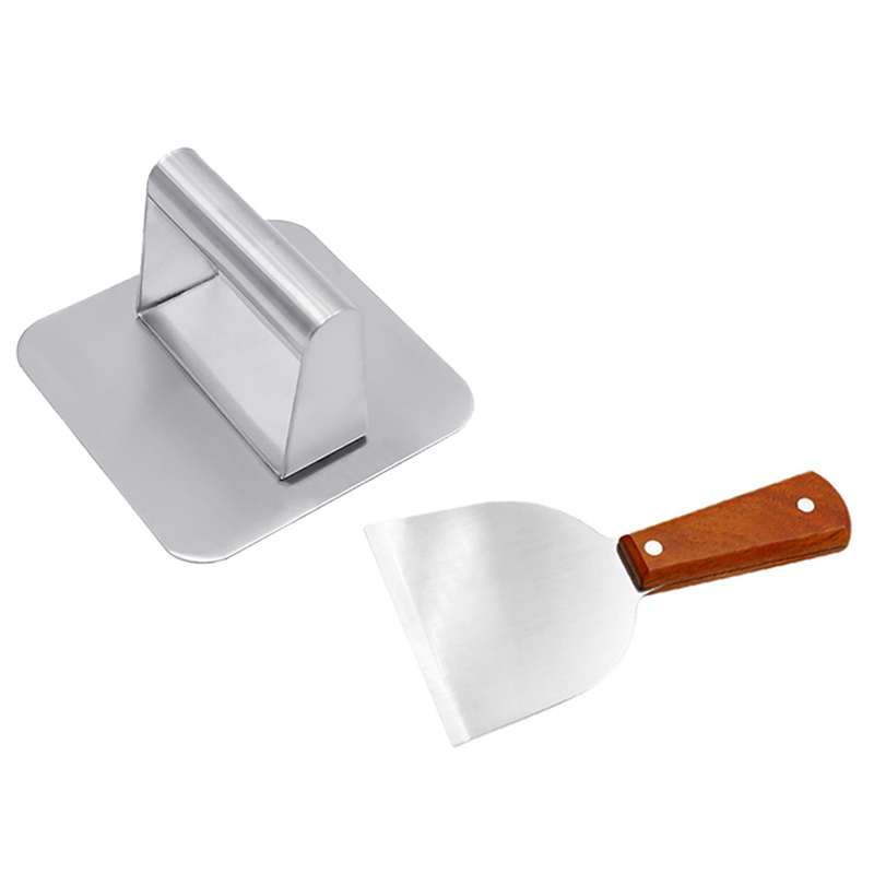 Smash Burger Press,Stainless Steel Hamburger Press,Grill Press for Griddle,Bacon Press Accessories for Outdoor Grill