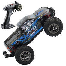 RC Drift Car Motor sin escobillas ESC 2,4G RC coche 4WD 52 KMH Buggy de alta velocidad Monster camión anti-vibración Drift Racing juguete(China)