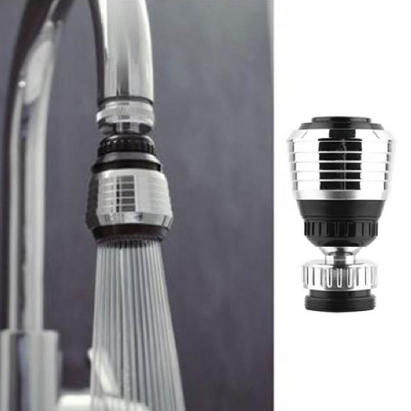 360 Rotate Swivel Faucet Nozzle Filter Adapter Water Saving Tap Diffuser Antisplash Water Filter Adapter Water Purifier Accessor