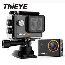 "ThiEYE Action Kamera 4K Unterwasser Sport Cam 60M Wasserdicht Ultra HD 30fps WiFi 2,0 ""170D Helm Video aufnahme Sport Kamera(China)"