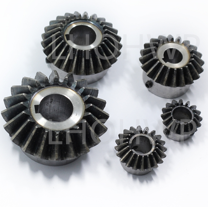 2Pcs 15mm 1:1 Bevel Gear 2 Modulus 20 Teeth With Inner Hole 15mm 90 Degree