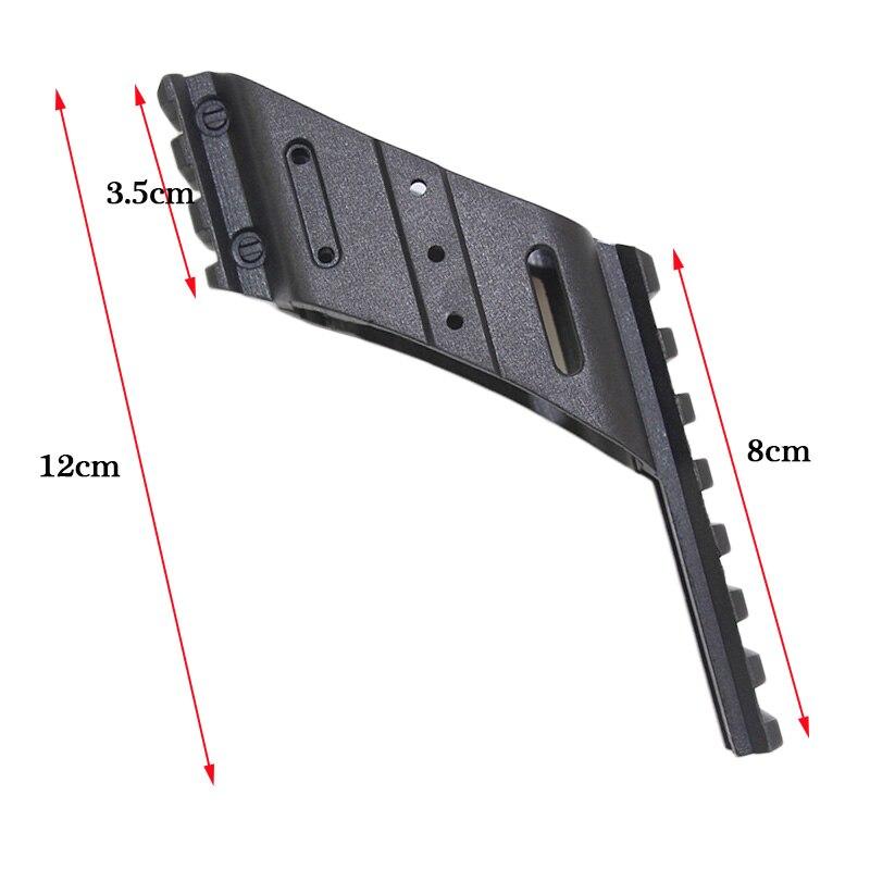 ferroviário picatinny visão laser iluminação âmbito montagem