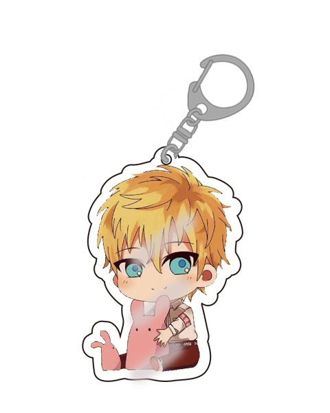 Anime Djibaku Shonen Hanako-kun Keychain Cartoon Figure Acrylic Bag Pendants Car Key Chains Keyrings