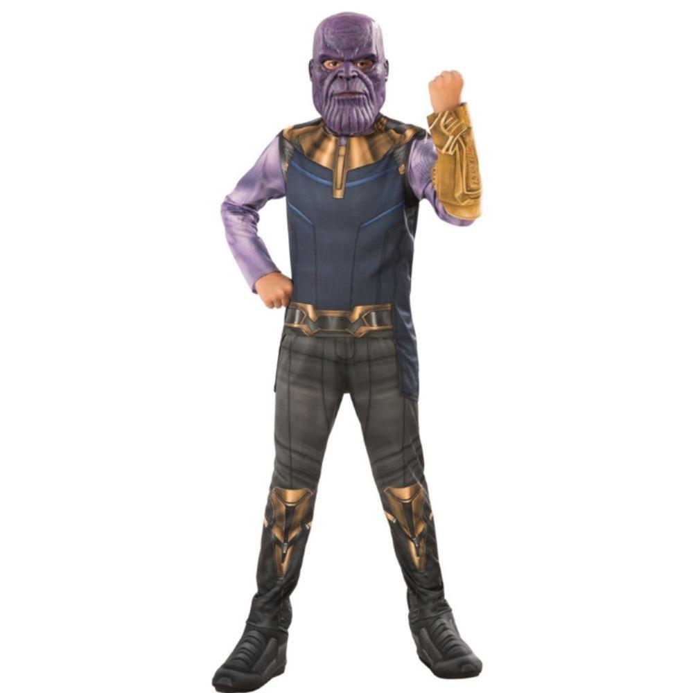 Танос маска для косплея Детский костюм супергероя детское платье на Хэллоуин Детский карнавальный костюм