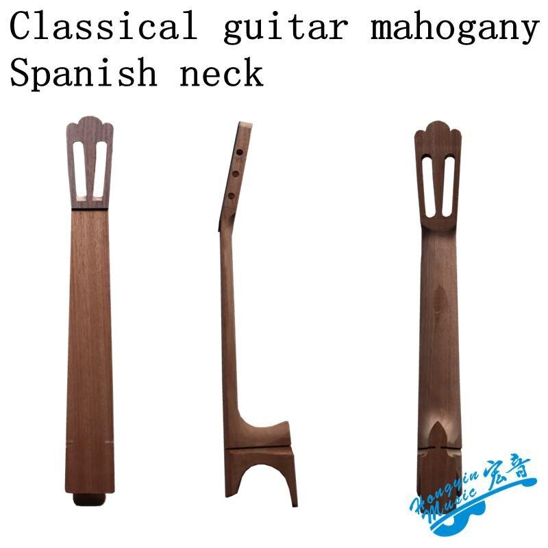 Authentique de base de pêche pince ébène guitare classique fini cou Espagnol clé Espagnol s'est cou