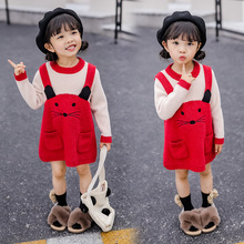 Cute Kids Baby Sweater Pullover Girl Clothes Casual Korean Girls Sweaters Princess Winter