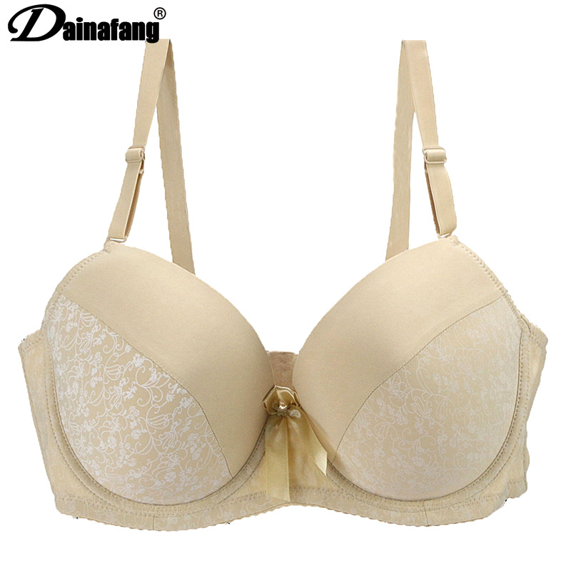 Fat mm large size bra large cup bra adjustable shoulder strap multicolor optional bra comfortable gathering breathable bra