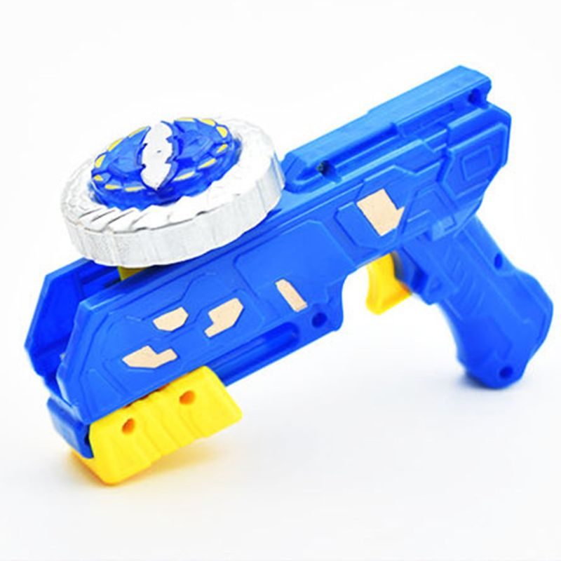 Gyro Gun Peg-top Spinning Funny Toy Kids Classic Gyroscope Children Game Toys 95AE(China)