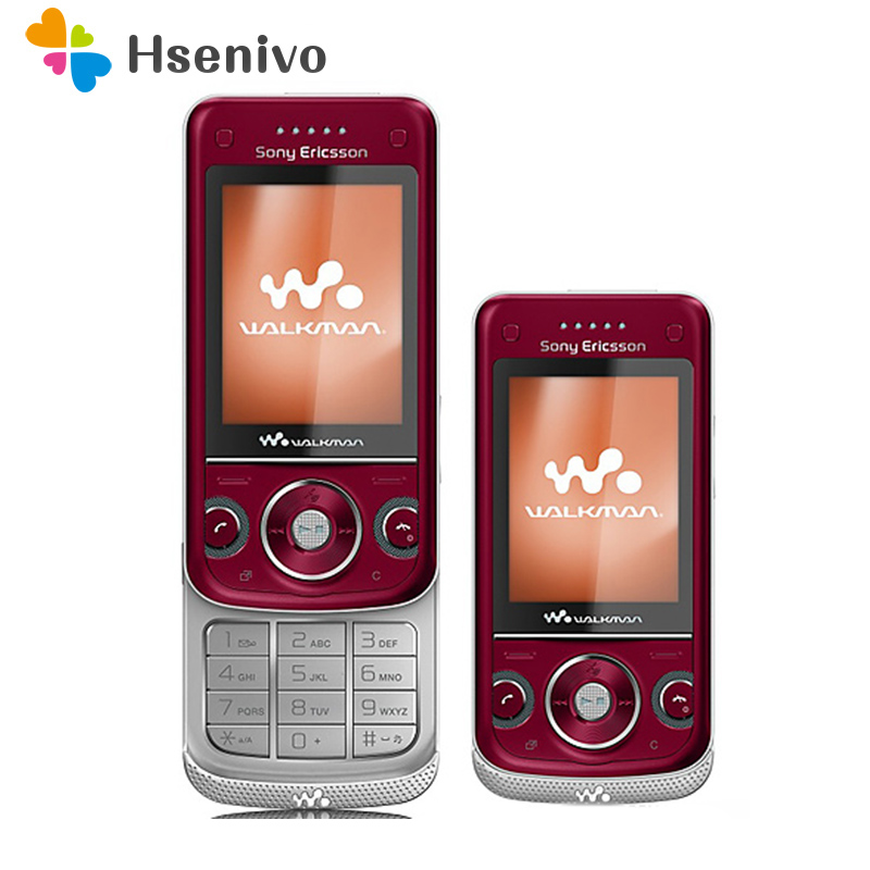 W760 100% Original Unlokced Sony Ericsson W760C Mobile Phone 2G Bluetooth 3.2 MP Camera FM Unlocked Cell Phone Free Shipping